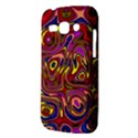 Abstract Shimmering Multicolor Swirly Samsung Galaxy Ace 3 S7272 Hardshell Case View3