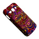 Abstract Shimmering Multicolor Swirly Samsung Galaxy Ace 3 S7272 Hardshell Case View5