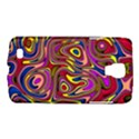 Abstract Shimmering Multicolor Swirly Galaxy S4 Active View1