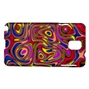Abstract Shimmering Multicolor Swirly Samsung Galaxy Note 3 N9005 Hardshell Case View1