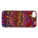 Abstract Shimmering Multicolor Swirly Apple iPhone 5S/ SE Hardshell Case View1