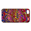 Abstract Shimmering Multicolor Swirly Apple iPhone 5C Hardshell Case View1