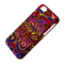 Abstract Shimmering Multicolor Swirly Apple iPhone 5C Hardshell Case View4