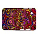 Abstract Shimmering Multicolor Swirly Samsung Galaxy Tab 2 (7 ) P3100 Hardshell Case  View1
