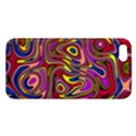 Abstract Shimmering Multicolor Swirly iPhone 5S/ SE Premium Hardshell Case View1