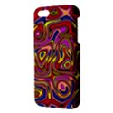Abstract Shimmering Multicolor Swirly iPhone 5S/ SE Premium Hardshell Case View3