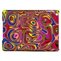 Abstract Shimmering Multicolor Swirly iPad Air Hardshell Cases View1