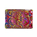 Abstract Shimmering Multicolor Swirly iPad Mini 2 Hardshell Cases View1
