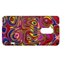 Abstract Shimmering Multicolor Swirly HTC One Max (T6) Hardshell Case View1