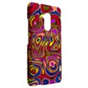 Abstract Shimmering Multicolor Swirly HTC One Max (T6) Hardshell Case View2