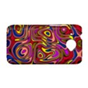 Abstract Shimmering Multicolor Swirly HTC Desire 601 Hardshell Case View1