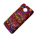 Abstract Shimmering Multicolor Swirly HTC Desire 601 Hardshell Case View4