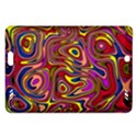 Abstract Shimmering Multicolor Swirly Amazon Kindle Fire HD (2013) Hardshell Case View1