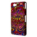 Abstract Shimmering Multicolor Swirly Sony Xperia Z1 Compact View3