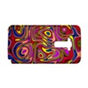 Abstract Shimmering Multicolor Swirly LG G Flex View1