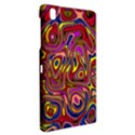 Abstract Shimmering Multicolor Swirly Samsung Galaxy Tab Pro 8.4 Hardshell Case View2