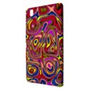 Abstract Shimmering Multicolor Swirly Samsung Galaxy Tab Pro 8.4 Hardshell Case View3