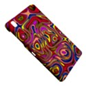 Abstract Shimmering Multicolor Swirly Samsung Galaxy Tab Pro 8.4 Hardshell Case View4