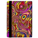 Abstract Shimmering Multicolor Swirly iPad Mini 2 Flip Cases View4