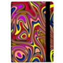 Abstract Shimmering Multicolor Swirly iPad Air Flip View2