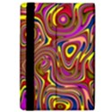 Abstract Shimmering Multicolor Swirly iPad Air Flip View4