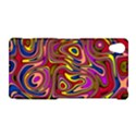 Abstract Shimmering Multicolor Swirly Sony Xperia Z2 View1