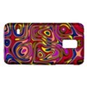 Abstract Shimmering Multicolor Swirly Galaxy S5 Mini View1