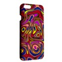 Abstract Shimmering Multicolor Swirly Apple iPhone 6 Plus/6S Plus Hardshell Case View3