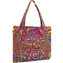 Abstract Shimmering Multicolor Swirly Mini Tote Bag View2