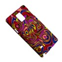 Abstract Shimmering Multicolor Swirly Samsung Galaxy Note 4 Hardshell Case View5