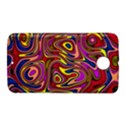 Abstract Shimmering Multicolor Swirly Nexus 6 Case (White) View1
