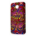 Abstract Shimmering Multicolor Swirly Nexus 6 Case (White) View2