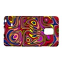 Abstract Shimmering Multicolor Swirly Galaxy Note Edge View1