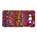 Abstract Shimmering Multicolor Swirly Samsung Galaxy A5 Hardshell Case  View1