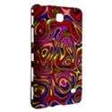 Abstract Shimmering Multicolor Swirly Samsung Galaxy Tab 4 (8 ) Hardshell Case  View3
