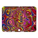 Abstract Shimmering Multicolor Swirly Samsung Galaxy Tab 4 (10.1 ) Hardshell Case  View1
