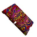 Abstract Shimmering Multicolor Swirly Samsung Galaxy Tab S (10.5 ) Hardshell Case  View5