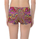 Abstract Shimmering Multicolor Swirly Boyleg Bikini Bottoms View2