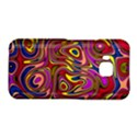 Abstract Shimmering Multicolor Swirly HTC One M9 Hardshell Case View1