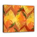 Fall Colors Leaves Pattern Deluxe Canvas 24  x 20   View1