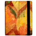 Fall Colors Leaves Pattern Apple iPad 3/4 Flip Case View2