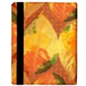 Fall Colors Leaves Pattern Apple iPad Mini Flip Case View3