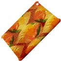 Fall Colors Leaves Pattern Apple iPad Mini Hardshell Case View4