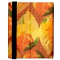 Fall Colors Leaves Pattern Samsung Galaxy Tab 8.9  P7300 Flip Case View3
