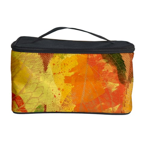 Fall Colors Leaves Pattern Cosmetic Storage Case