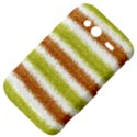 Metallic Gold Glitter Stripes HTC Wildfire S A510e Hardshell Case View4