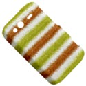 Metallic Gold Glitter Stripes HTC Wildfire S A510e Hardshell Case View5