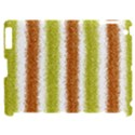 Metallic Gold Glitter Stripes Apple iPad 2 Hardshell Case (Compatible with Smart Cover) View1
