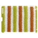 Metallic Gold Glitter Stripes Apple iPad 3/4 Hardshell Case (Compatible with Smart Cover) View1