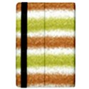 Metallic Gold Glitter Stripes iPad Mini 2 Flip Cases View4